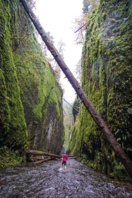 Oneota Gorge Oregon