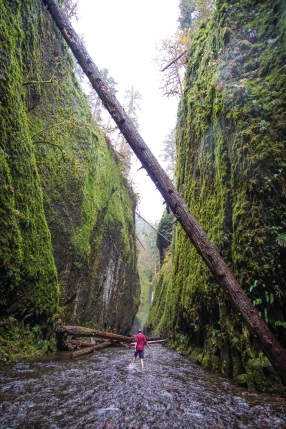 Oneota Gorge Oregon