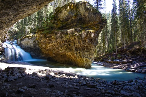 Cave in Canada